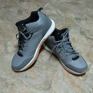 And 1 grey & black hi top sneakers NWOT